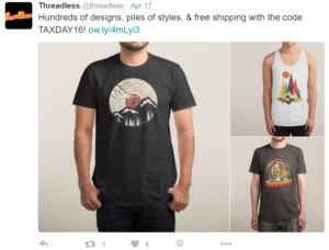 Threadless Twitter